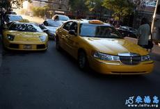 这个城市用法拉利做出租车
