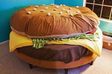 汉堡包床,睡觉没问题!