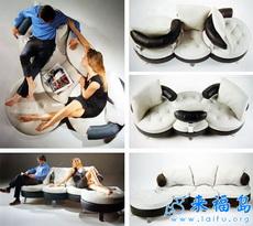 360 ° sofá giratorio