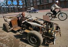 老农自制的F1赛车