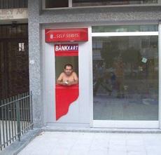 Self-help ATM