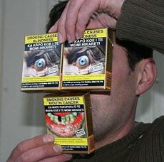 la parodia de tabaquera