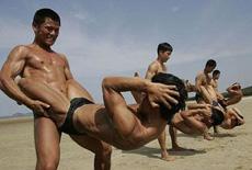 肌肉男是这样炼成的