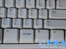 和自己的键盘比较一下!