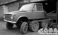 自制履带小货车