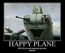 快乐的飞机