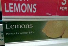 这柠檬卖相真不错