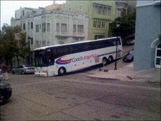 大巴车不能走这里