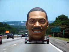 公路上又见怪车