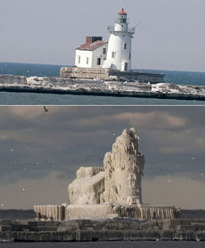 夏天的灯塔和冬天的灯塔