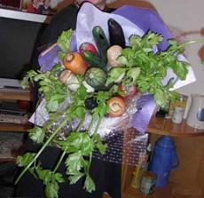 Un haz de flores para mi novia.