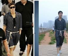 la misma ropa para diferentes personas