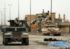 美軍在伊拉克的形式武器