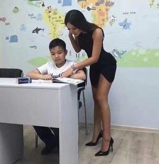 补习班有这种老师,我早考清华了!