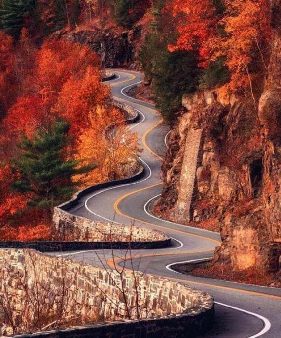 考验老司机车技的公路