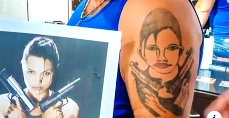 大哥,你这纹身是低配版的吧