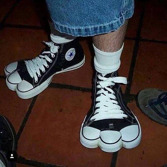 这鞋确定是人穿的吗?