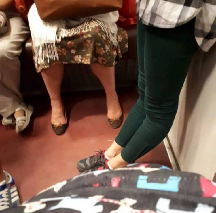 这腿是假的吧?[奇闻怪事]