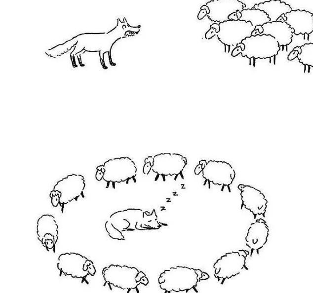 数羊数睡了[搞笑漫画]