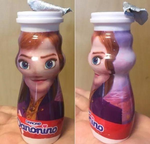 瓶子上不要印头像